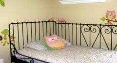 Птица из бумаги для украшения детской кроватки