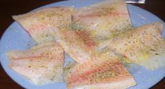 Рыба в фольге в духовке - простой рецепт