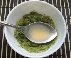 Маска из брокколи и авокадо для лица