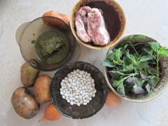Борщ со щавелем и крапивой, как приготовить