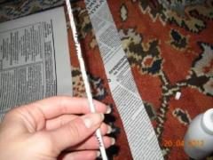 Корзинка из газет - плетение