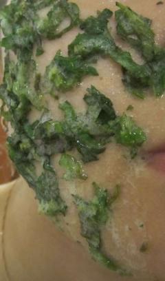 Крапивная маска - тонизирующая, освежающая и стягивающая для жирной кожи лица