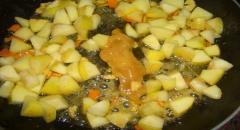 Кутья из риса с яблоками