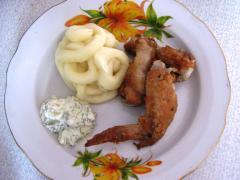 Маринад для куриных крылышек с имбирем - рецепт, фото