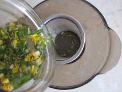Лосьон из цветков одуванчика, тонизирующий