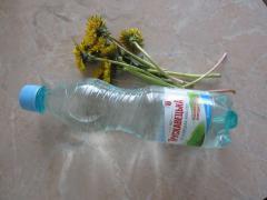 Маска из цветков одуванчика для раздраженной кожи