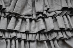 Платье с рюшами на лето