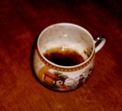 Кофейный скраб с творогом для лица