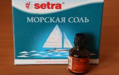 Солевой раствор для укрепления ногтей