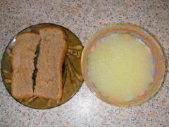 Умывание сывороткой - рецепт скраба с фото