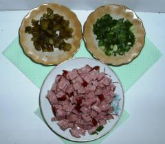 Испанский салат Арагонский