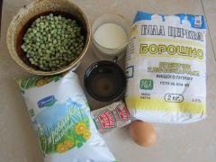 Лепешки с зеленым горошком к супу, как приготовить