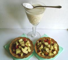 Компресс для пяток из молока и яблок