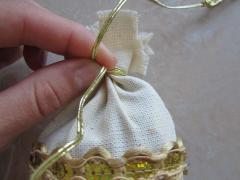 Как сделать декоративный мешочек - оберег с лавандой