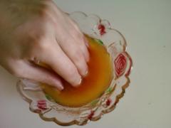 Оливковая маска для ногтей