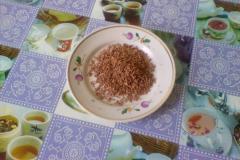 Шоколадное мыло с желтой глиной