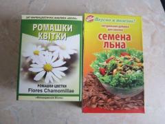 Маска для лица из семян льна и ромашки