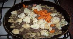 Овощное рагу с мясом - рецепт