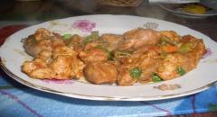 Свинина с овощами - Пикантная - рецепт