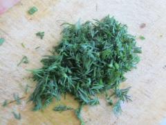 Творожная закуска с зеленью, завернутого в салатные листья - рецепт