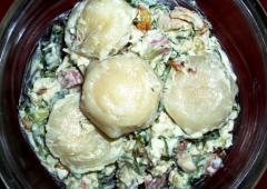Пельмени из курицы (куриного филе) по-царски